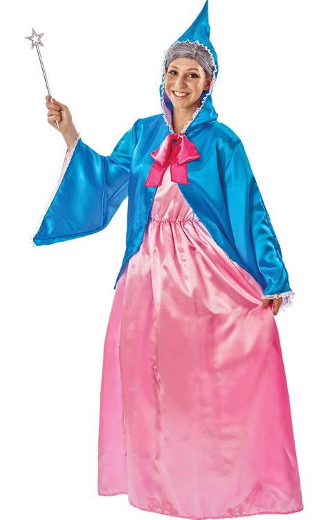 adult magical fairy godmother fancy dress costume simply
