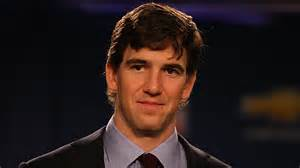New york giants quarterback eli manning is honored by being nominated