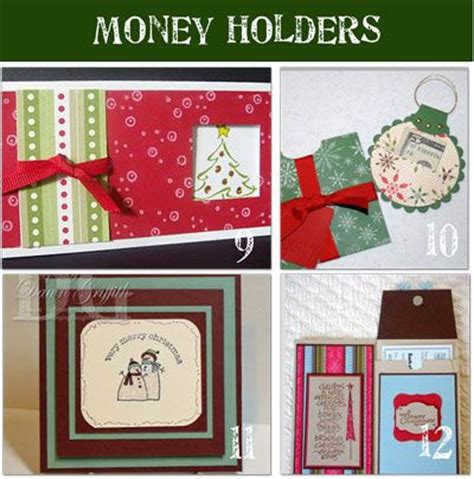 printable christmas money cards how to make money holder cards 12 paper crafts cards