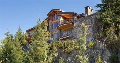 whistler b c mountain home on sale for 6 499 million