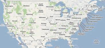 Google Usa Map by Interactive Google Map Usa Gallery