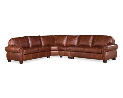 Thomasville Benjamin Sofa by Benjamin Sectional Leather Thomasville Furniture