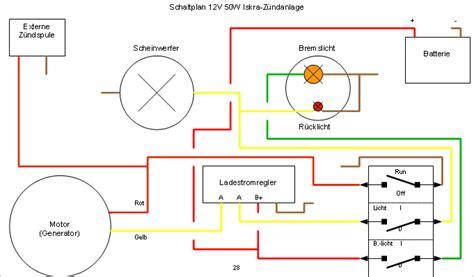 Motorrad Blinker Dauerlicht by Schaltplan Bilder