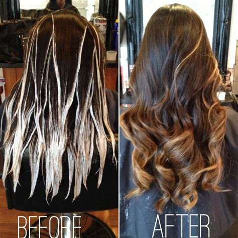 balayage hair color technique best 25 how to balayage ideas on balayage