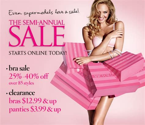 Sale Alert Victorias Secret Semi Annual Sale by The S Secret Semi Annual Sale Starts Today