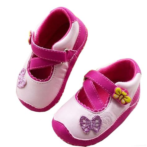 baby shoes 9 12 months baby glitter butterfly princess buds ballet slippers
