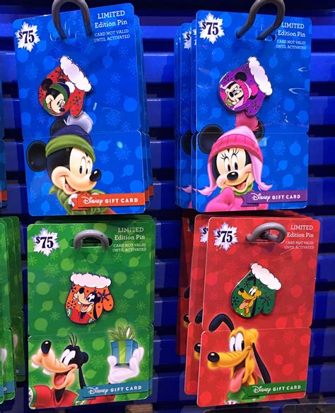 Carding Gift Cards 2016 - holiday gift card pins 2016 disney pins blog
