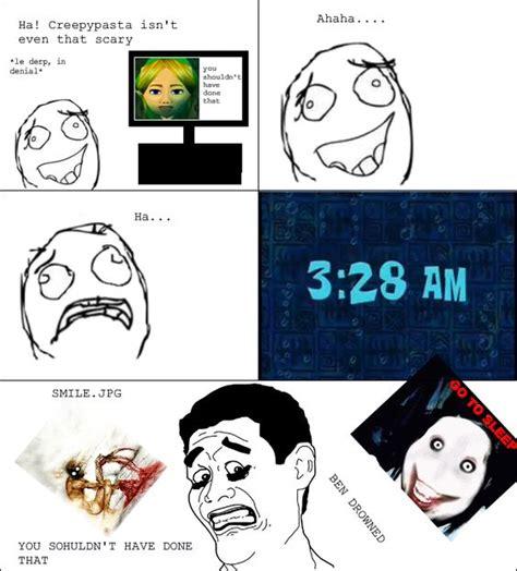 Creepypasta Memes - creepypasta memes funny image memes at relatably com