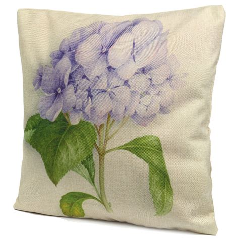 chinoiserie flower decorative pillows best bed rest rose flowers cotton linen throw pillow case sofa bed car