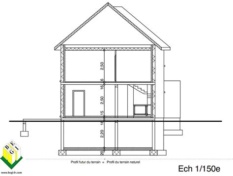 Plan De Coupe Maison 775 plan de coupe maison plan de maison upload photos