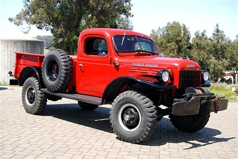 1955 Dodge Power Wagon   NATES AUTO EYE CANDY   Pinterest