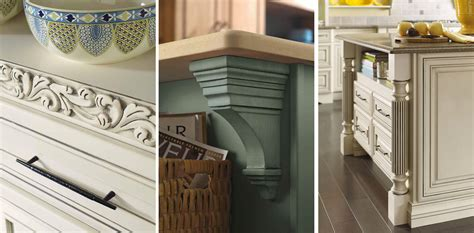 wood embellishments for cabinets add detail to your kitchen kitchen design