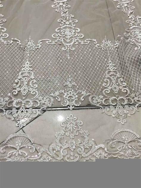 elegent tulle bridal fabric swiss voile