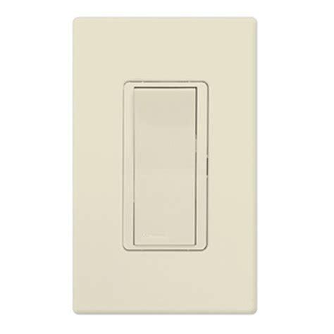 Paddle Light Switch lutron claro ca 1psh la light almond paddle switch