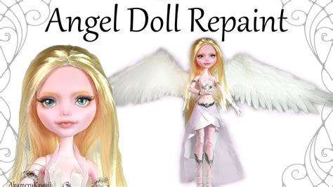fashion doll repaint tutorial how to doll repaint tutorial