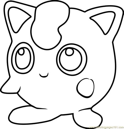 pokemon coloring pages jigglypuff jigglypuff pokemon go coloring page free pok 233 mon go