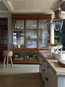 display kitchen cabinets glass display cabinets in the kitchen the design tabloid