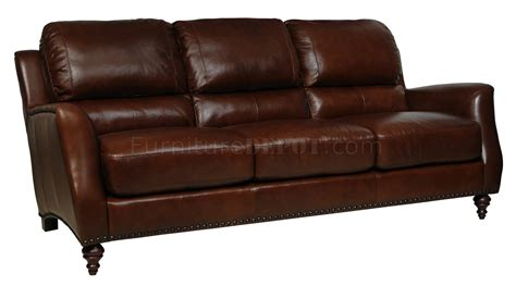 classic wooden sofa brown full italian leather classic 4pc sofa set w wooden legs