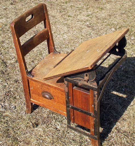 antique child s school desk vintage childrens