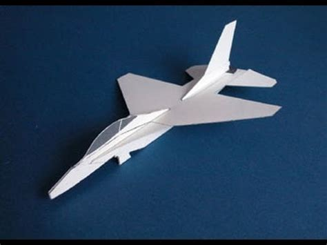 Aeroplane With Paper - how to make a paper airplane easy fast cool