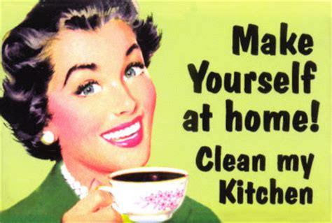 make my kitchen brief and to the point 50 s retro sarcastic humor
