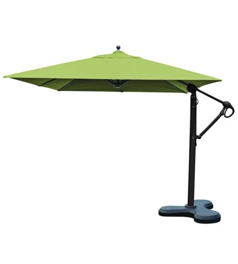 Best Selection Cantilever Umbrellas Galtech 10 Ft Square Square Cantilever Patio Umbrella