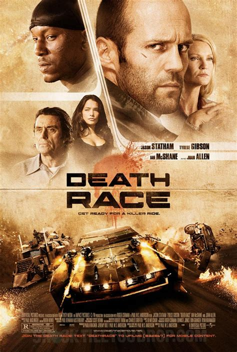 film jason statham death race jason statham s death race poster debut firstshowing net