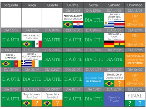 Calendario Copa Fortaleza Ter 225 50 De Dias 250 Teis Na Copa De 2014 Cnews