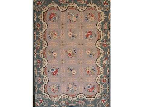 tappeti outlet tappeto classico rettangolare in chainstich cm