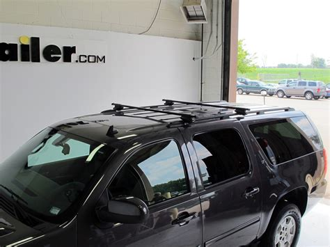 Suburban Rack by Thule Roof Rack For 2002 Suburban By Chevrolet Etrailer