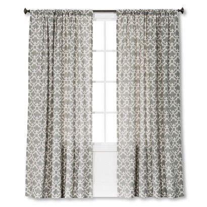 target farrah curtains threshold farrah fretwork curtain panel don t normally