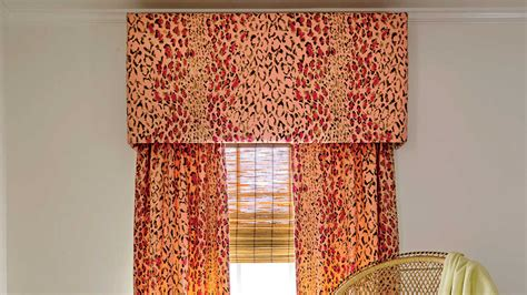 window treatments southern living how to make your own window valance southern living