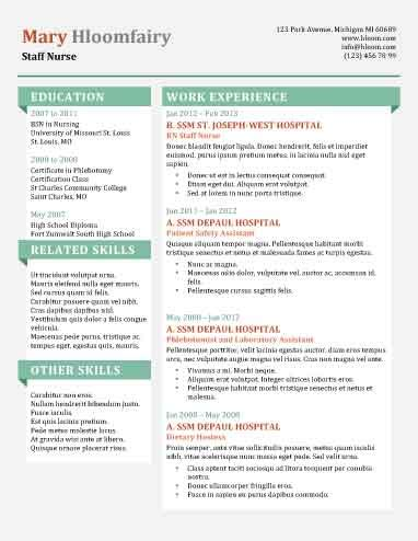Best Resume Templates For Entry Level by 49 Creative Resume Templates Unique Non Traditional Designs