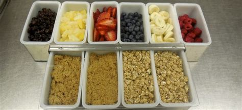 oatmeal toppings bar pin by itsmeals provo on provo utah school meals that