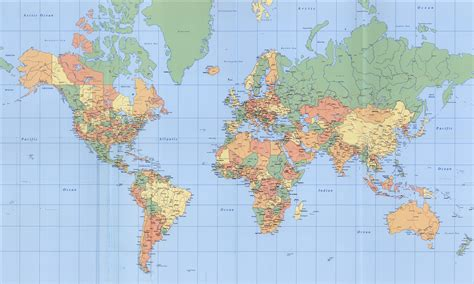 map of the world world maps