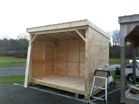 wood storage shed   build  shed step  step