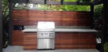 Deck Awnings Outdoor Kitchen Amp Bbq Area Batu Hardwood Contemporary