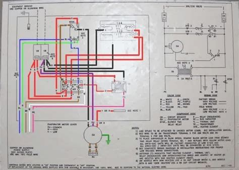 hvac air handler units diagram home air conditioner