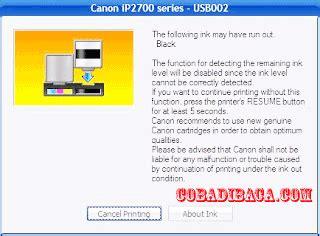 reset ulang printer canon ip2770 tofik cyber cara reset canon ip2770 berkedip 16x orange