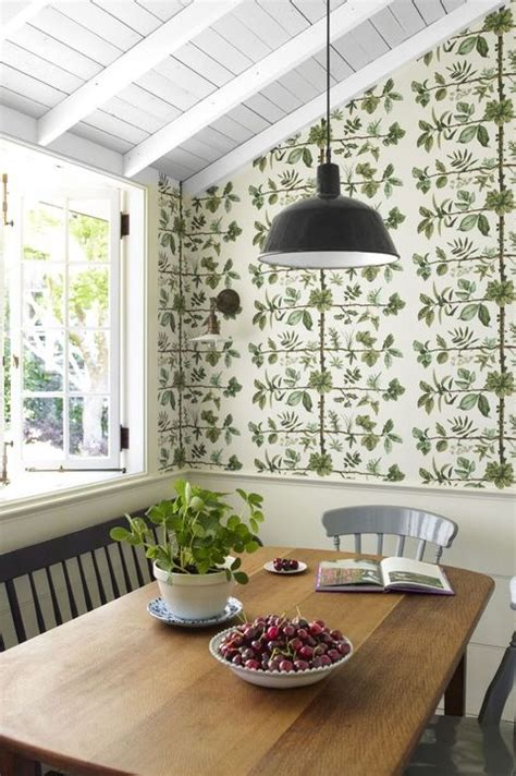 gorgeous kitchen wallpaper ideas  wallpaper  kitchen walls