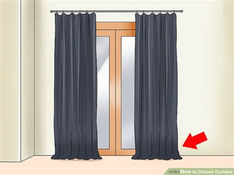 choosing drapes 4 ways to choose curtains wikihow