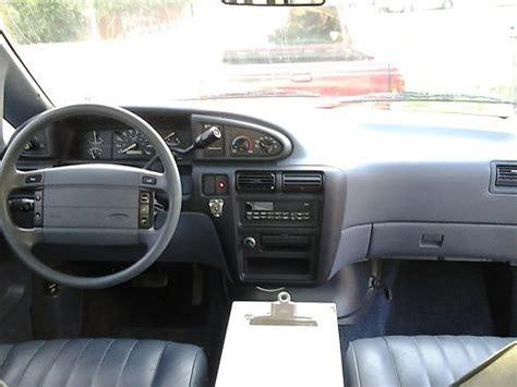 Ford Aerostar Interior by Find Used 1997 Ford Aerostar Cargo In San Antonio