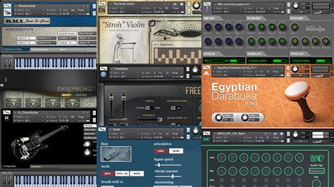 Sound Library Kontakt 38 best free kontakt libraries pianos keyboards strings guitars drums sfx etc