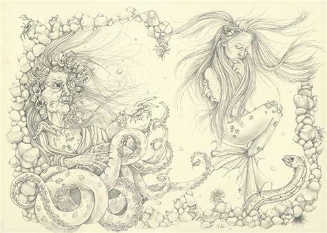 boat underwater drawing underwater drawing carrolyn lakowski illustration