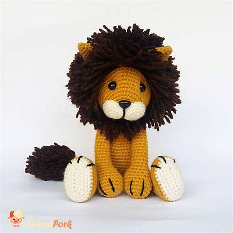 amigurumi lion amigurumi crochet stuffed crocheted
