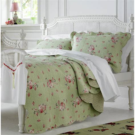 Quilted Bedspreads Green Bedspreads And Comforters Home Bedding