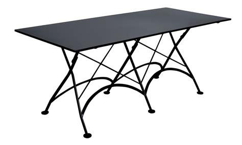 Black Metal Patio Table 4116s