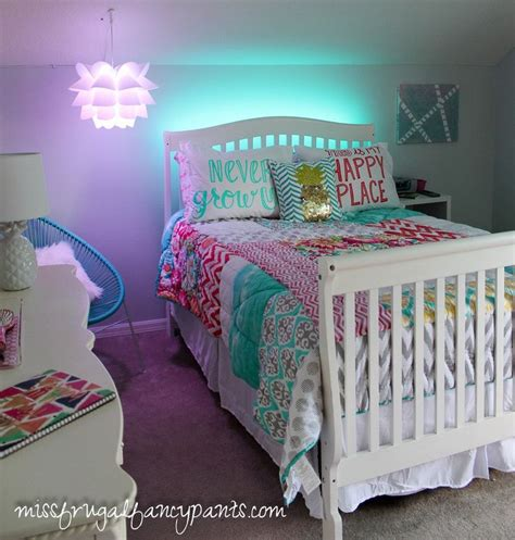 colorful tween bedroom lighting tween room and bedrooms
