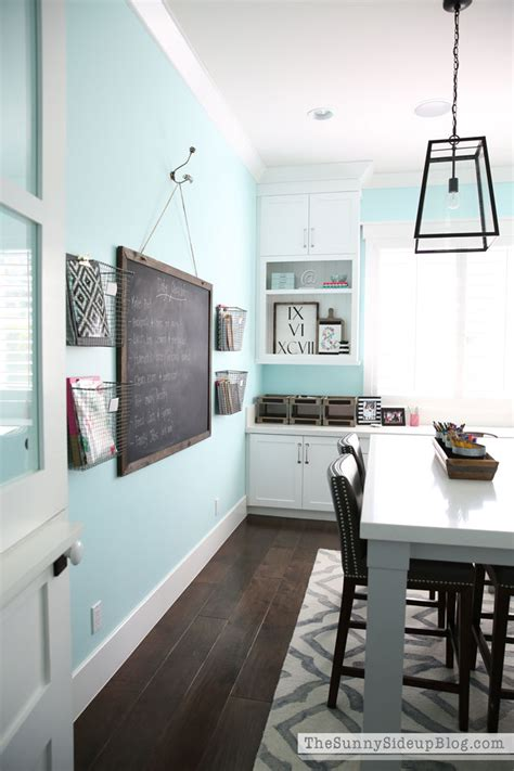 decorated officecraft room  sunny side  blog