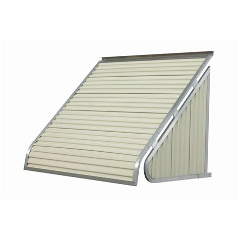 Awnings At Home Depot by Metal Awnings The Home Depot